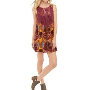 Free People Count Me In Trapeze Tunic Top